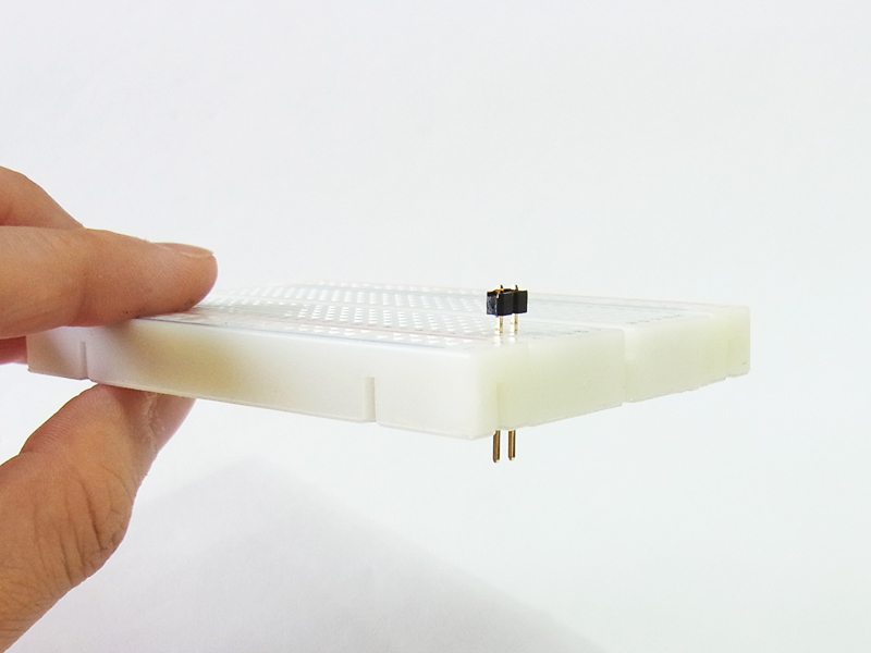 Lead-through Breadboard (Prototype for Standard Breadboard)