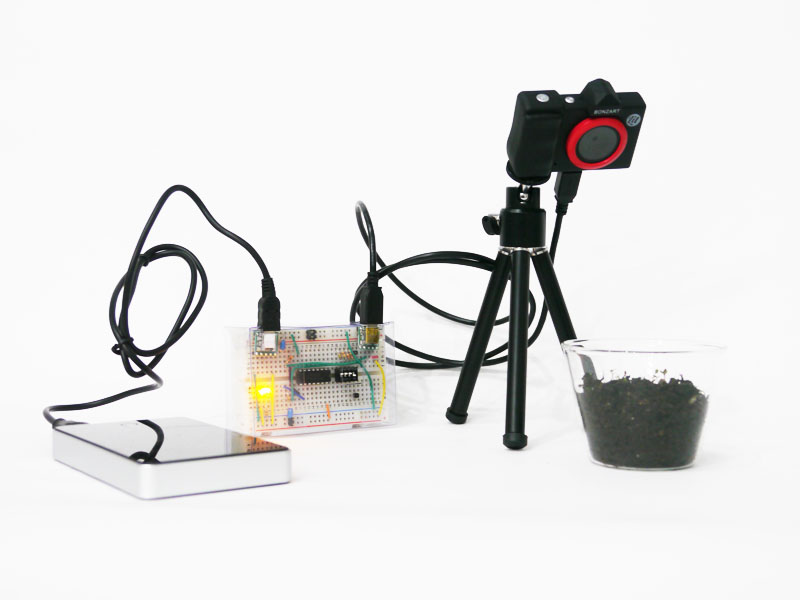 Toy Digital Camera Control Set with Shutter for Time Lapse Photography